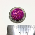 Purple Sunset Felt Brooch/Pin