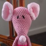 Mindy the house mouse in pinks : Washable, OOAK