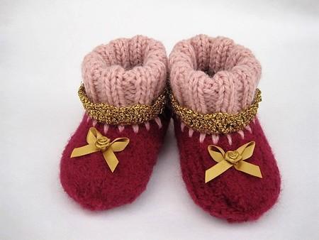"""""""Princess"""" slippers for babies > size EU 16 (10 cm) - EU 18 (11.6 c"""