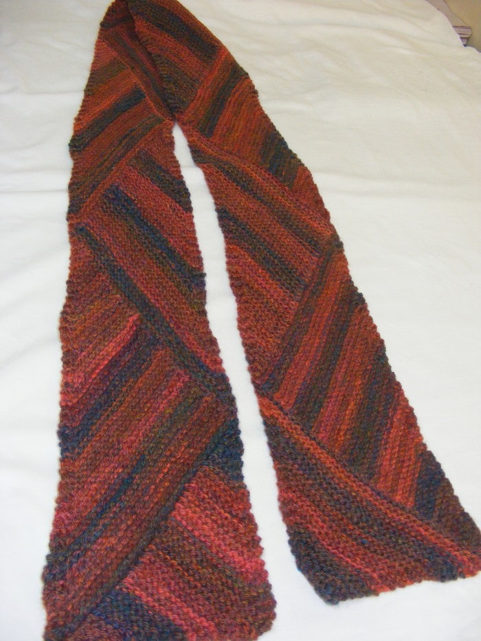 Hand Knitted Scarf The Box Under The Bed Madeit Com Au