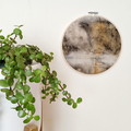 Eco Printed Wall Hanging | Boho Decor | Wall Art | Eco Dyed Art | Vignette