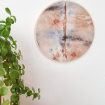 Eco Printed Wall Hanging | Boho Decor | Wall Art | Eco Dyed Art | Vignette