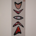 Modernist wall hanging-Totem RC
