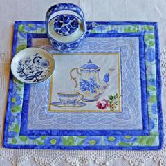 Table mat or trivet.