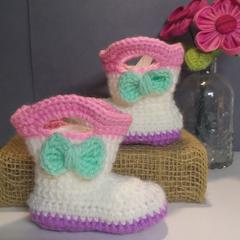 Crochet Gum Boots