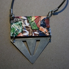 Griffin - Collage Pendant