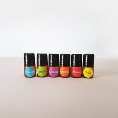 Emotional roller blends 6 x 1ml essential oil blends