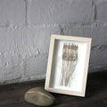 Moon Beams - Hand Woven Framed Art
