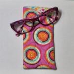 Circle Fabric Glasses/Sunnies Case