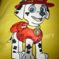 """Fire Pup - Paw Patrol"" Reading/Pocket Cushion (cover only)"