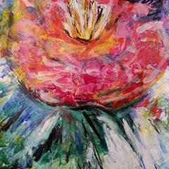 Camellia -Original Painting