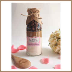SMALL MOTHER'S DAY Choc Chip Cookie Mix in a bottle. Makes 6 delicious cookies.