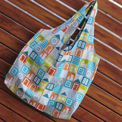 Market Bag - Home Sweet Home Print