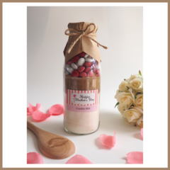 SMALL MOTHER'S DAY Cookie Mix in a bottle. Makes 6 delicious cookies