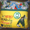 """Green Lantern"" Reading/Pocket Cushion (cover only)"