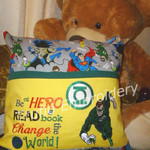 """""""Green Lantern"""" Reading/Pocket Cushion (cover only)"""