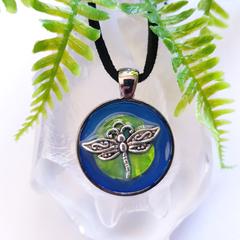 Dragonfly - 3D Art Pendant