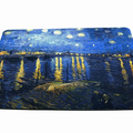 Starry Night Over the Rhone Mouse Pad - Van Gogh Mouse Pad