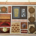 Modernist fabric wall hanging- Allotments.
