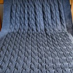 Bamboo/Wool Mix THROW, super soft, 140 x 100 cm