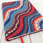 Indian Summer A5 Journal Notebook Diary Cover, A5 Refillable Diary