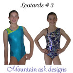 Leotards #3 Sewing Pattern Gymnastics and Dance Leotard in Girls Sizes 2-14