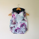 Size 6 - Twig Reversible Vest - Watercolour /Charcoal