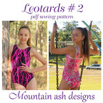 Leotards #9 Sewing Pattern Gymnastics and Dance Leotards in Womens Sizes