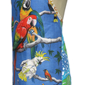 Metro Retro  BIRDS Tea Towel Kitchen Apron Birthday Christmas