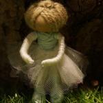 Ballerina yarn doll