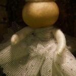 Angel yarn doll