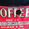 Coffee Shoulderbag Coffee Handbag Vintage Print Coffee HandBag Coffee Bag