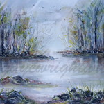 REFLECTIONS - A4 Watercolor Print Digitail Download