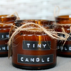 Tiny Candle | Rose Geranium & Lemon |