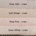 Linen Strapless Ladies Top - crop length