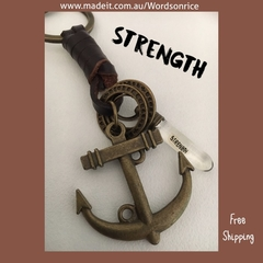 STRENGTH - keyring/bagcharm