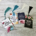 Magnetic Scripture Bookmark - Christian - favours - Living Contented