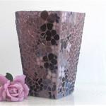 Mosaic Floral  Vase