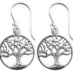 Custom made Tree of Life Beaded Earrings