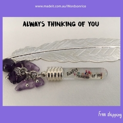 ALWAYS THINKING OF YOU- bookmark