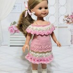 Pastel Pink - 33cm Doll Clothes