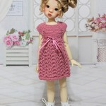 Pretty in Pink - 35cm Doll Clothes