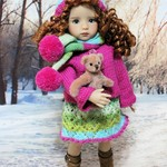 Winter Woollies - 33cm Doll Clothes