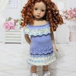 Forget Me Not - 33cm Doll Clothes