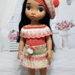 Peach Delight - 40cm Doll Clothes