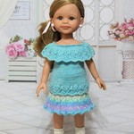 Sea Urchin - 33cm Doll Clothes