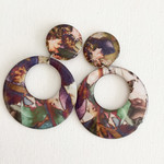 Resin Statement Earrings - Prevelly