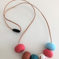 THEA 6 bead Necklace (Short)