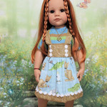 Animal Print - 50cm Doll Clothes