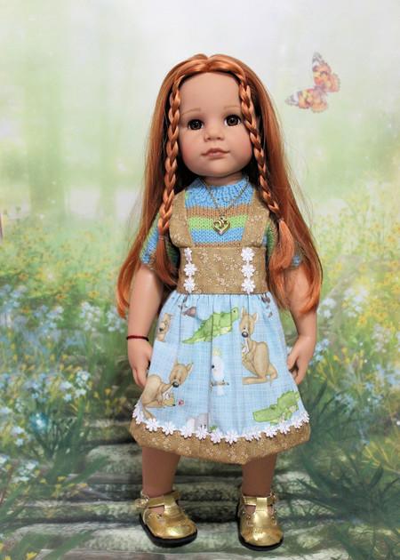 Animal Print - 50cm Doll Clothes